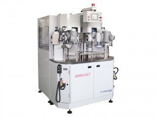 NC medium centering machine with 2 spindles(with auto feeding device) : Video