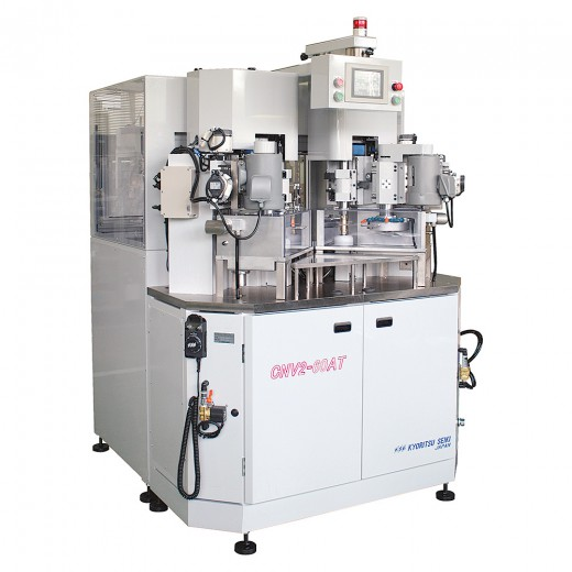NC medium centering machine with 2 spindles(with auto feeding device) : CNV2-60AT